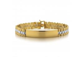 Bransoleta złota - 24 cm